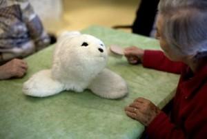 BADEN-BADEN: Paro seal robot therapy